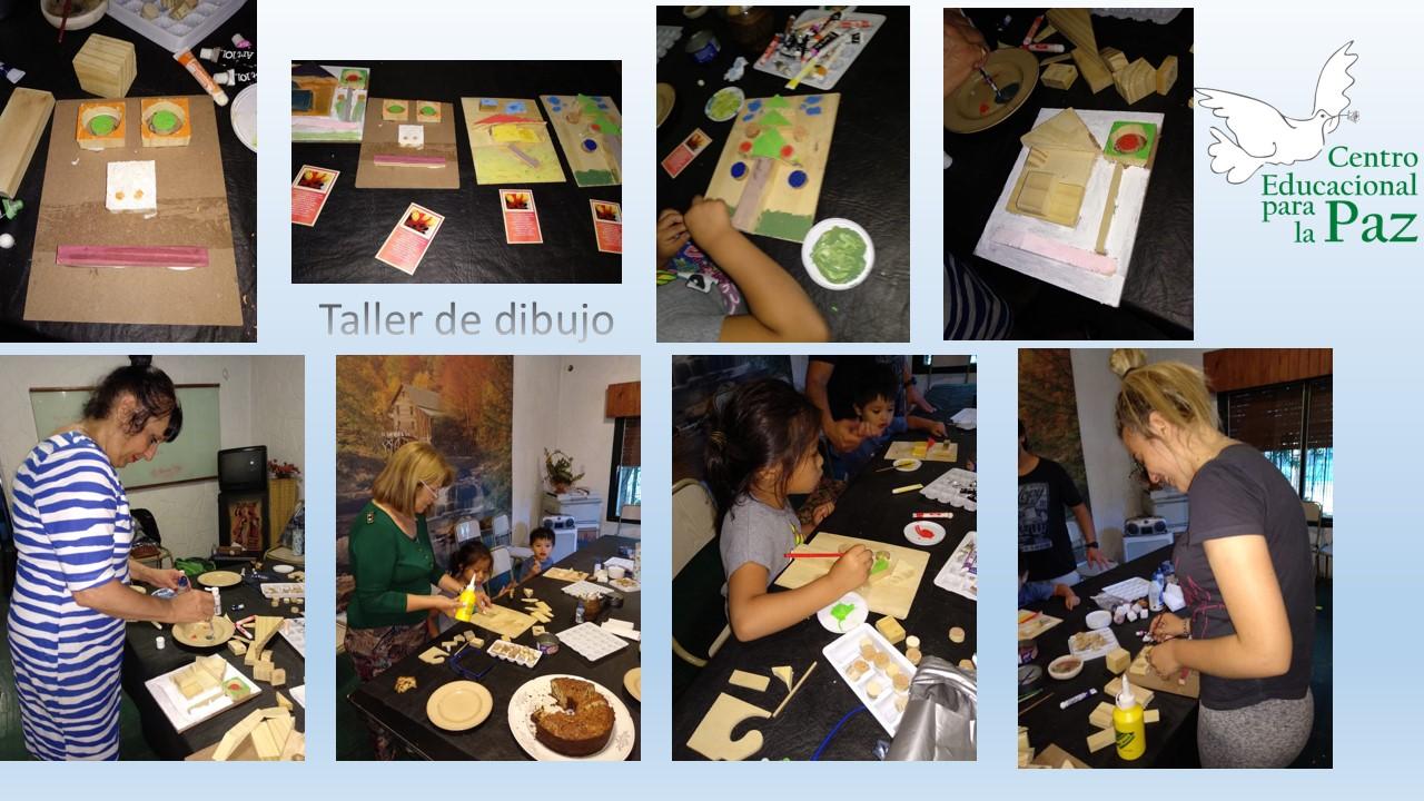 Gracias por participar en el TALLER DE DIBUJO