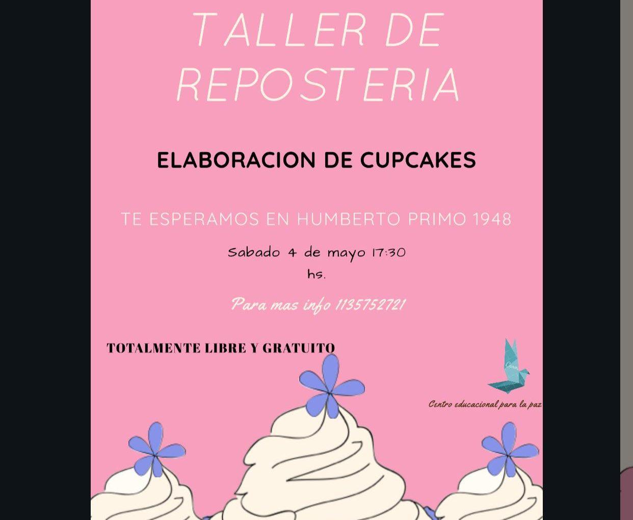TALLER DE REPOSTERÍA